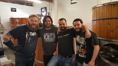 Les, Sergio, Guillem, Mick